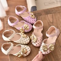 2020 Summer Fashion Girls Hollow Sandals Children Soft Botto...