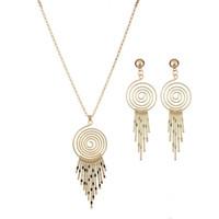 Set di gioielli geometrici Set collane collane set per le donne Set di gioielli da sposa da sposa Set di gioielli festa