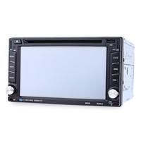 6202B 6.2 pulgadas Bluetooth V3.0 Auto Radio Doble Din Car DVD Reproductor de GPS Navegación en el tablero Estéreo Video Mapa Mic Llamadas manos libres