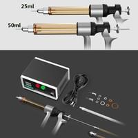 Bateria Autêntica BBELL Lava Kit de núcleo de óleo de enchimento de óleo Carrinho de injeção de controle de temperatura de enchimento para cartuchos de Vape 25ml 50ml