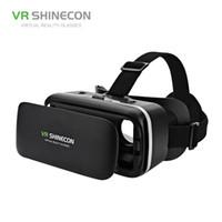 VR SHINECON G04 Sanal Gerçeklik Kulaklık 3D VR 4.7-6.0 inç Android iOS Akıllı Telefonlar için Gözlük