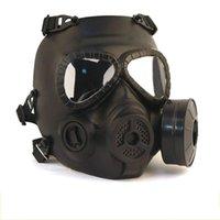Wargame Fan Cosplay Cosplay Full Gaz Full Gas Fan Protection CS Résine Tête de résine Paintball Face factice pour Airsoft pour masques Masque Meiga