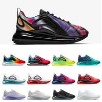 Air max 720 2019 Jel-Quantum 360 SHIFT Istikrar Koşu Ayakkabıları T728N siyah beyaz atletik açık Spor Koşu eğitmen hız sneaker 41.5-45