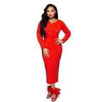 Lady Tasarımcı Büro BODYCON Elbise Kadınlar Kış Pullarda Patchwork Elbiseler Moda Mürettebat Yaka Uzun Kollu Giyim