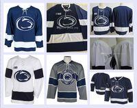 Cheap Penn State Nittany Collegio Hockey Jersey 13 Nikita Pavlychev 14 Nate Sucese 17 Evan Barratt 18 Brett Murray 19 Derian Hamilton Sewn