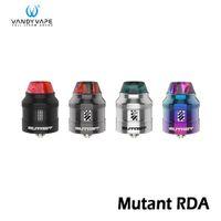 Ванди мутант жидкостью Vape RDA танк регулируемый поток воздуха распылитель 4 режима с 0.39 Ohm катушки сверху засыпку дна сока Возврат 100% подлинный VandyVape