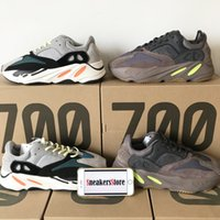 2018 New Kanye West 700 Wave Runner Top Quality Mauve Grey B...