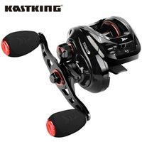Дешевые Рыболовные катушки Kastking Royale Legend II Baitcasting Rayer 7.2: 1 5.4: 1 Коэффициент шестерни CARP Катушка Магнитная Тормозная система 8 кг Перетащить рыболовную катушку