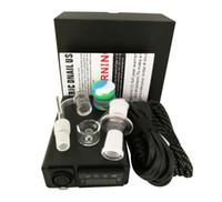Kit Mod controllo Dab enail vaporizzatore dispositivo BOX Quatz vetro titanio enail temperatura per Concentrato WAX