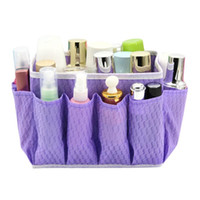 Nonwovens Cosmetic Storage Boxes Multi - pocket Cosmetic Bag...