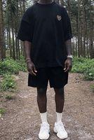 Verano hombre de las camisetas NO TELÉFONO season5 CALABASAS INSIGNIA trigo Oído T-camisa suelta de manga corta de moda casual Crew Neck