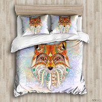 Duvet Cover Sets Colorful tiger custom Bed Linens Bedding Se...