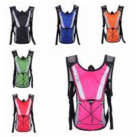Backpack de senderismo Portátil al aire libre deportes Montar en bicicleta Paquetes de hidratación Nylon Bolsa de agua a prueba de agua Zza1067