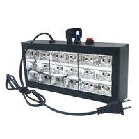 Edsion2011 18 LED RGB Strobe Stage Light Voice Автоматический контроль проектор Party KTV Club Bar Pub Lamp Eu / US Plug