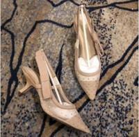 2021 европейский стиль импортированных высококачественных дам на высоком каблуке сандалии партии обувь мода девушка сексуальные заостренные туфли свадебные туфли сандалии # 15