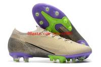2020 erkek futbol ayakkabıları Mercurial Buharlar 13 Elite AG CR7 futbol krampon ucuz Superfly 7 Elite SE AG krampon Ronaldo Neymar 01
