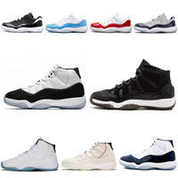 11 11s Prom Night Men Basketball Shoes blackout Easter Gym R...