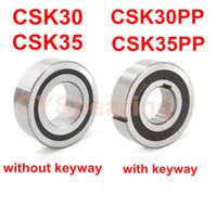 CSK30 CSK30PP 30x62x16mm CSK35 CSK35PP 35 * 72 * 17mm antiretro Un modo Cuscinetto con Keyway Sprag ruota libera Backstop frizione