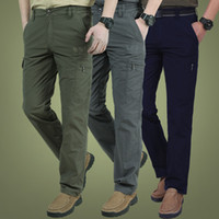 Men' s Lightweight Tactical Cargo Pants Breathable Summe...