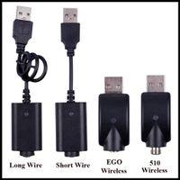 EGO USB 충전기 케이블 긴 유선 충전 케이블 510 EGO EVOD 무선 USB 충전 코드 E Cig 카트리지 배터리