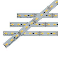 CC 12V SMD 5730 5630 strisce rigide del LED Luci 1M in alluminio 100/200 / 400pcs per il rosso / blu / verde / bianco caldo / freddo bianco