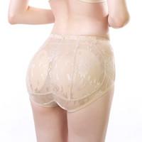 섹시한 란제리 소프트 엉덩이까지 패딩 엉덩이 증강 셰이퍼 팬티 원활한 소프트 속옷 드롭 배송 여자