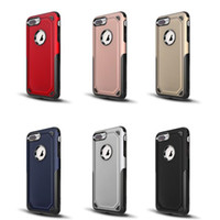 2 in 1 Hybrid Armor Case Rugged Shockproof Cases Cover For i...