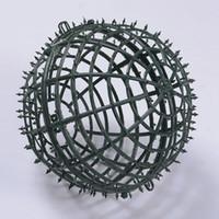 Marco de la flor partido planta DIY boda que se besa bola artificial Material del marco del Festival Accesorios Kissing bola bola plástica