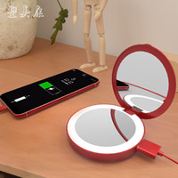 ML003 Portable rechargeable Touch Screen Make Up Mirror With...