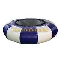 Inflatable Trampoline for Sale Popular 3m Diameter Jumping Bouncers Outdoor Sports Game for Kids Free Pump Free Shipping