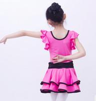 Vestiti della danza della ragazza della ragazza dell'ingrosso dell'usura del palcoscenico
