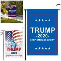 2020 El general estadounidense Presidente Voto Jardín Banner Trump Bandera Banderas de la elección de colores decorativo Partido Patio Suministros nueva llegada D2 5 5mxa