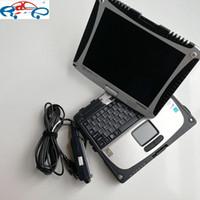 100% Yüksek Kalite Toughbook CF 19 Laptop 4G / 8G RAM Desteği ICOM A2 Sonraki MB Yıldız C3 C4 C5 SSD veya HDD Olmadan