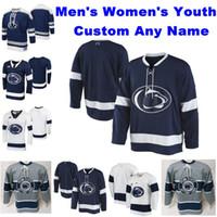 NCAA Penn State Nittany Lions Collegio Hockey maglie Mens Nikita Pavlychev Jersey Connor MacEachern McMenamin Kris Mylläri personalizzato cucito