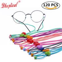 안경 스프링 체인, 안경 코드, 어린이 안경 코드 화려한 코드 120pcs는 회중 안경에 의해 도매 회피하지 마십시오