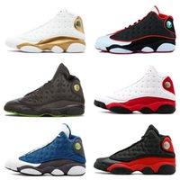 online retailer 990a3 2e1f3 13s Clásico Jumpman 13 zapatos de baloncesto de oliva HOF DMP gato negro  que tiene juego