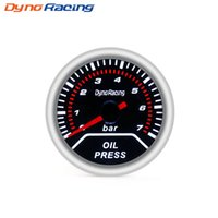"""Dynoracing Oil imprensa calibre 2"""" medidor de pressão de 52 milímetros de óleo com sensor de 0-7 bar metros Car"""