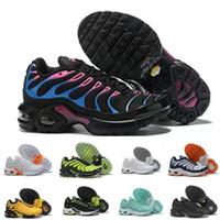 حار TN Plus 2019 TN أطفال أحذية رياضية بنين الأطفال احذية كرة السلة الطفل Huarache الأسطورة الأزرق حذاء رياضة حجم 28-35