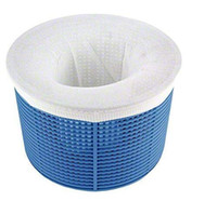 10 PC de paquete de piscina Skimmer Calcetines - Pack de 10 de malla fina Piscina Spa prefiltro Savers para los filtros, canastas y skimmers