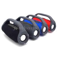 Kutu iyi eşyasıyla 2018 yeni Boombox Bluetooth Hoparlör 3D HIFI Subwoofer Eller serbest Açık Taşınabilir Stereo Sabvufırlar