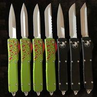 "ferramenta de corte tático faca automática CNC A5 A6 a14 A13 VG10 lâmina 60-62HR Benchmade BM3300 UTX85 UT121 trumpt 3 ""T6 alça de acampamento"