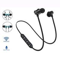 XT11 Bluetooth-Kopfhörer Magnetischer drahtloser Laufsport-Ohrhörer Headset BT 4.2 mit MIC MP3 Earmud für iPhone LG Smartphones 4 Farben