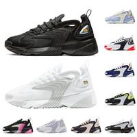 디자이너 브랜드 M2K하기 Tekno 줌 2K 인종 레드 남성 여성 신발 블랙 화이트 크림 화이트 로얄 블루 스포츠 Ssneakers 남성 트레이너 36-45 실행