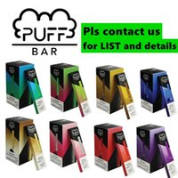 Puff Bar dispositivo desechable vainas 1,3 ml vaporizador pluma 280mAh kit de inicio de la batería