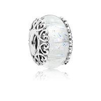 Otantik 925 Ayar Gümüş Pandora Bilezik Boncuk Uyar Aşk Charms Avrupa Yılan Charm Zincir Kolye Moda DIY Takı