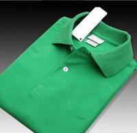 새로운 브랜드 2019 큰 작은 말 악어 자수 폴로 셔츠 남성 짧은 소매 캐주얼 셔츠 남자의 솔리드 폴로 셔츠 Camisa 폴로