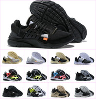 2019 Nuevo Original Presto V2 Ultra BR TP QS Negro X Zapatillas deportivas Barato Sports Women Men aI Prestos off Chaussures White Sneakers