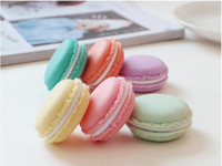Macaron Симпатичные конфеты цвета Мини-Cosmetic Jewelry хранения Box Контейнер таблетки Case Charm подарка дня рождения Валентина шоколад Упаковка