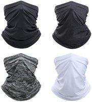 4 sztuk szyi gaiter twarz szalik maska, ochrona przed słońcem chłodne lekkie wiatroszczelne, oddychające wędrówki wędrówki biegnące na rowerze