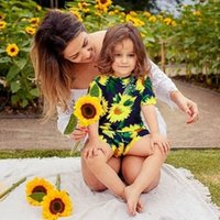 2019 New Sunflowers Flower Baby Boy Girls Jumpsuit Overalls ...